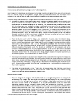 Briefing Note re Public Entertainment Licensing