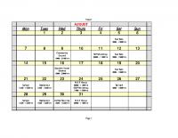 dyke calendar